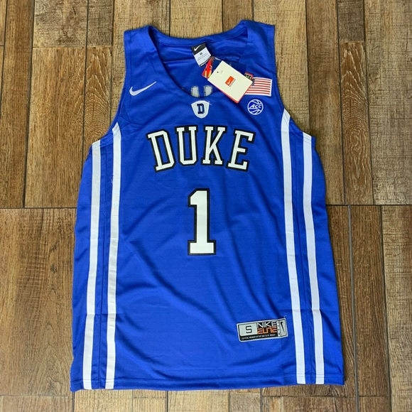 NWT Zion Williamson Duke Blue Devils Jersey Nike 0e7d20671